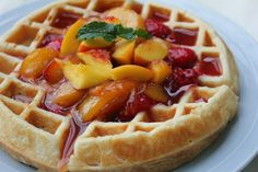 Deals to Meals: Spongy Yeast Waffles