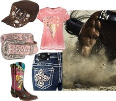 """Pink Barrel Racer"" by adenny on Polyvore"