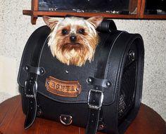 Genuine Leather/PU Leather Handmade Mini Pet Carrier