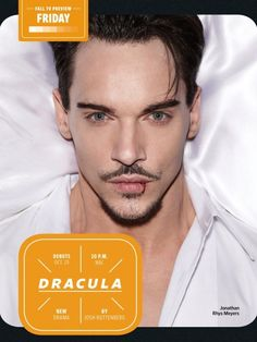 Dracula, new TV promo + look at bloody gorgeous Jonathan Rhys-Meyers from EW