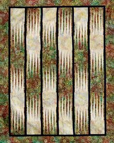 Waterfalls, Quiltworx.com, made by Certified Instructor Linda Tellesbo