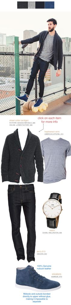 Men's Casual Style Outfit Inspiration