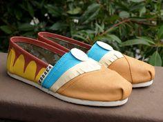 KOOAK Kustoms Disney Pocahontas Inspired Toms Flats