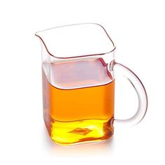 Glass Serving Pitcher-Wandering Poet Enjoy / Slow / Green