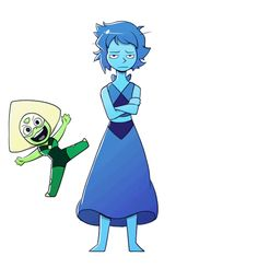 Lapis and Peridot should just have their own show. I'd pay to see that