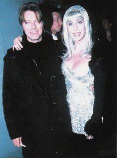 David Bowie e Cher
