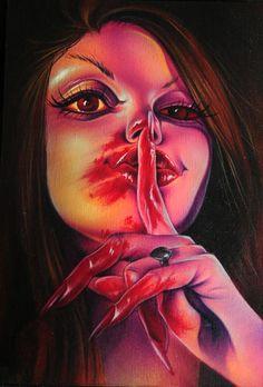 "blood pudding pin up   Joe Capobianco's 'BLOOD PUDDIN' & Marie Sena's ""DARK AGES"" X Stranger ..."