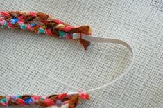 Easy braided headband