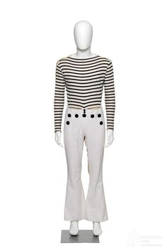 Ensemble designed by Jean Paul Gaultier, 1985. Courtesy Les Arts Décoratifs, all rights reserved.