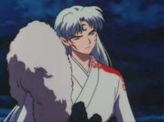Lord Sesshomaru from InuYasha Anime Figures, Anime Characters, Seshomaru Y Rin, Japanese Show, Inuyasha Love, Inuyasha And Sesshomaru, Miroku, Cartoon Profile Pictures, Manga Drawing