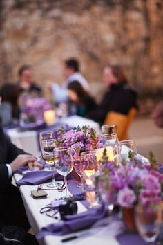 Hot Colors for This Summer's Wedding Season » Alexan Events - Lavendar