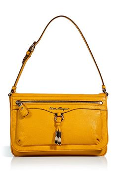 8a9250996db2 SALVATORE FERRAGAMO - Flame Orange Bessy Bag. Find more 2012 must-haves on  www