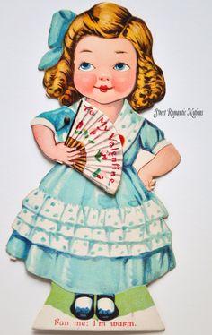 Sweet Romantic Notions: Valentine Ladies