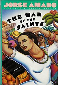 """The holy icon of Saint Barbara of the Thunder is bound for the city of Bahia for an exhibition of holy art. As the boat the bears the image is docking, a miracle occurs and Saint Barbara comes to life, disappearing into the milling crowd on the quay. Somewhere in the city a young woman has fallen in love, and her prudish guardian aunt has locked her away--an act of intolerance that Saint Barbara must redress. And when she casts her spell over the city, no one's life will remain unchanged."""