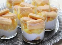 Tiramisu cu ananas - Tiramisu fara oua - Desert De Casa - Maria Popa Panna Cotta, Deserts, Ethnic Recipes, Pineapple, Dulce De Leche, Postres, Dessert, Plated Desserts, Desserts
