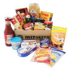 Geschenkset Ostprodukte Ostpaket Ostalgische Mahlzeit 17 typische Lebensmittel