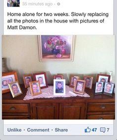 matt damon family photos