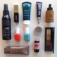 Beauty products for girls on the go