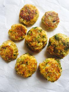Cauliflower Broccoli Veggie Patties