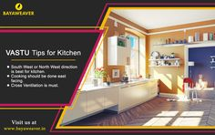 Meals and Memories are made in #kitchen. Here are some #Vastu tips for the kitchen.  #realestate #BayaweaverHome
