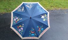 Hand painted umbrella!