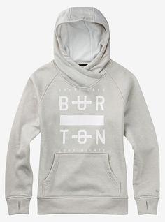 Burton Quartz Pullover shown in Dove Heather