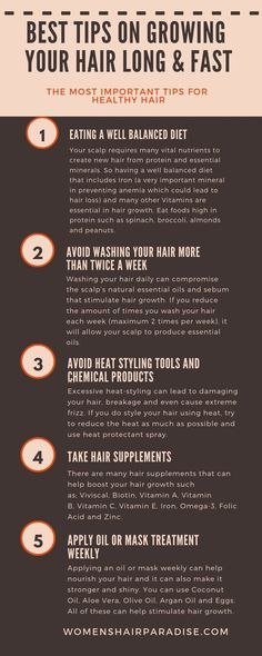 8 Tips On Growing Your Hair Fast, #fast #Growing #Hair #Tips