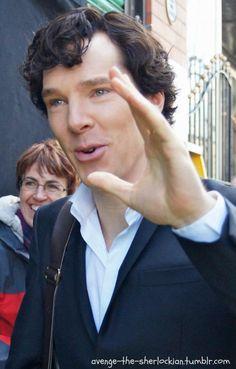 Benedict on the way for playing Sherlock season 3 4/02/2013