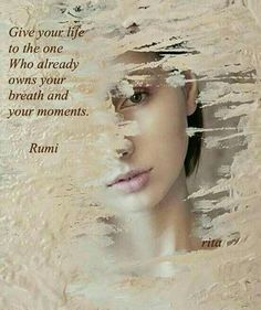 Explore powerful, rare and inspirational Rumi quotes. Here are the 100 greatest Rumi quotations on love, transformation, dreams, happiness and life. Kahlil Gibran, Rumi Love Quotes, Rumi Quotes Life, Inspirational Quotes, Motivational, Rumi Poem, Jalaluddin Rumi, Carl Jung, Spiritual Quotes