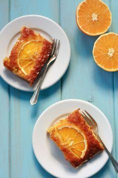 Portokalopita - easy orange pie for lazy but inspired cooks  / cookmegreek, authentic Greek recipes