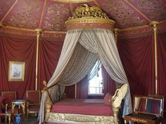 This link goes to a post at the Daily Baguette which features 9 exquisite French Bedrooms!