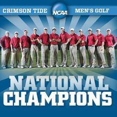 Alabama Crimson Tide  - 2013 Men's National Champions!