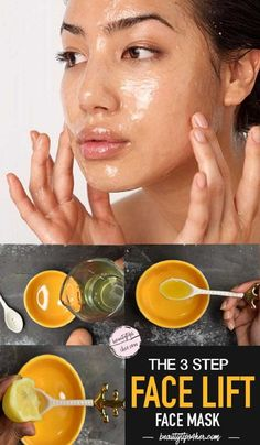 DIY Homemade Three Step Skin Tightening and Firming Mask