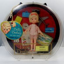 1965 Dolly Darlings Shary Takes a Vacation - Hat Box Series - Doll Complete with Case & Tag - Hasbro