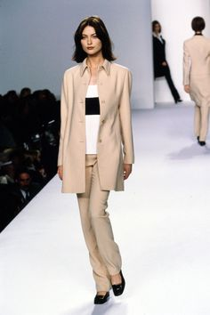 Calvin Klein Collection Spring 1996 Ready-to-Wear Fashion Show - Shalom Harlow