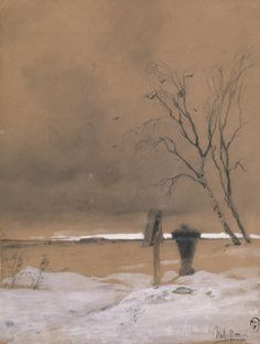 Isaac Levitan (1860-1900), La Tombe de Nadia Yakovleva - 1882