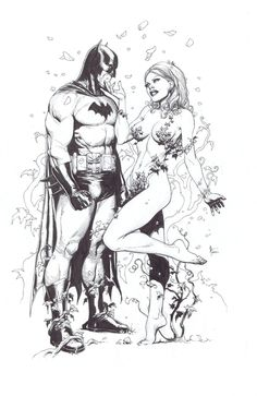 Gary Frank - Batman and Poison Ivy