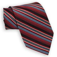 Enro Multi-Stripe Woven Silk Tie EXTRA LONG LENGTH #VonMaur