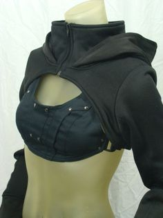 Dystopia Shrug by Crisiswear on Etsy