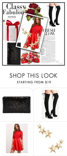 """""""Romwe 007"""" by ermina-camdzic ❤ liked on Polyvore featuring Kenneth Jay Lane and romwe"""