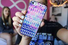 tribal galaxy iphone case.♡