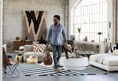 Bring Lenny Kravitz Home With Pieces From His New CB2 Line - http://freshome.com/lenny-kravitz-cb2-line/