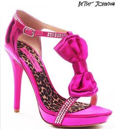 Glitzalicious ❤♥s ❤♥s ♥s this pin of Pink Betsey Johnson Shoes