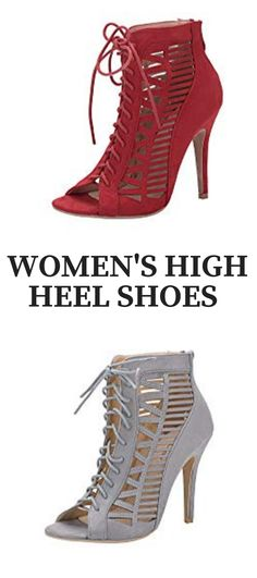 9aedcfd4f99e Women s High Heel Shoes  Mila Lady Alula Strappy and Laser Cut Peep Toe  Stiletto Sandals
