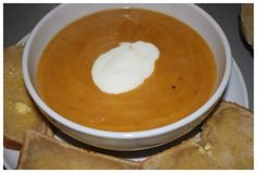 Recipe: a winter warmer ~ roasted sweet potato soup - Aphrodite's World