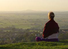 meditation in Glastonbury
