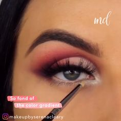 This girl is so skilled at eye makeup looks! Everything is simply flawless! Makeup by Sparkly Makeup, Purple Eye Makeup, Makeup For Green Eyes, Smokey Eye Makeup, Eyebrow Makeup, Hooded Eye Makeup Tutorial, Makeup Looks Tutorial, Makeup Tutorial For Beginners, Make Up Looks