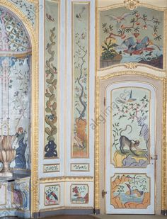 Detail from the Games Room, Stupinigi's Little Hunting Palace (UNESCO World Heritage List, 1997), by the architect Filippo Juvarra (1678–1736). Italy, 18th century