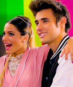 Jorge Blonco and Tini