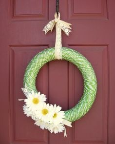 TweetTime to spruce up your front door for spring!  I priced wreath forms in the craft store this week and the styrofoam rings start at about $9 for a small one and go up from there.  The large sizes wereRead More